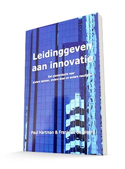 boek leiding geven aan innovatie